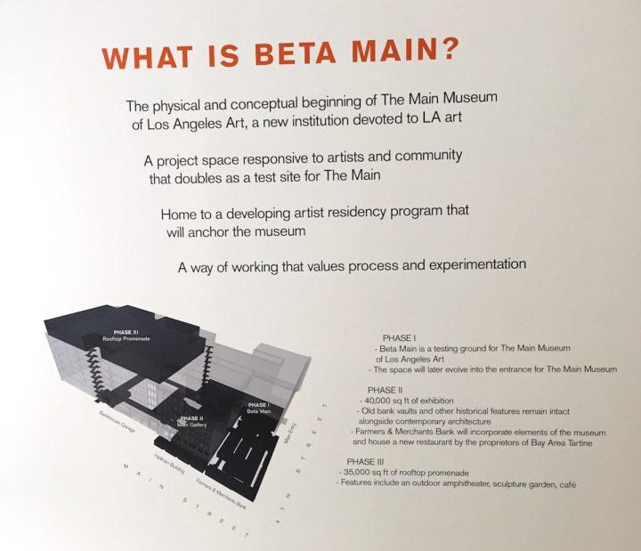 Project description at the Main Museum.