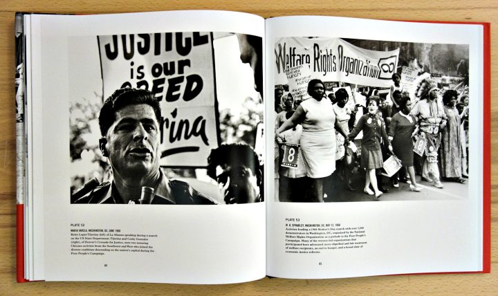 Pages from North of Dixie: Civil Rights Photography Beyond the South (photo of the book for Hyperallergic)