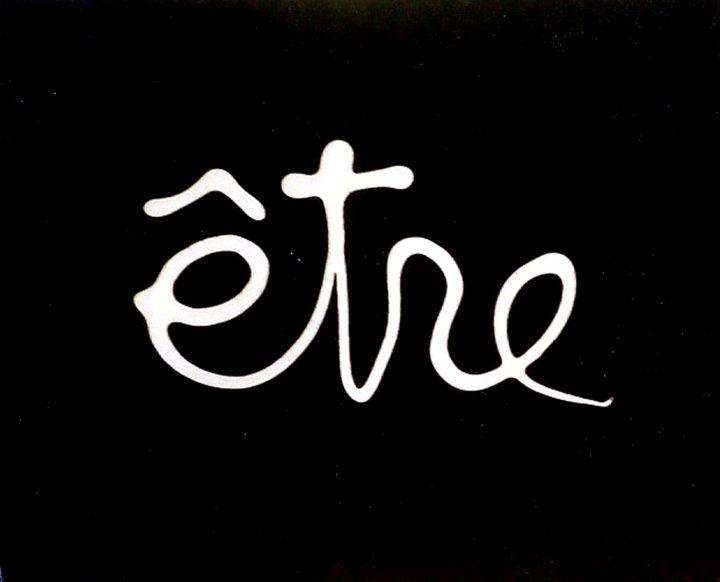 """Ben Vautier, """"Être"""" (1975), acrylic on canvas"""