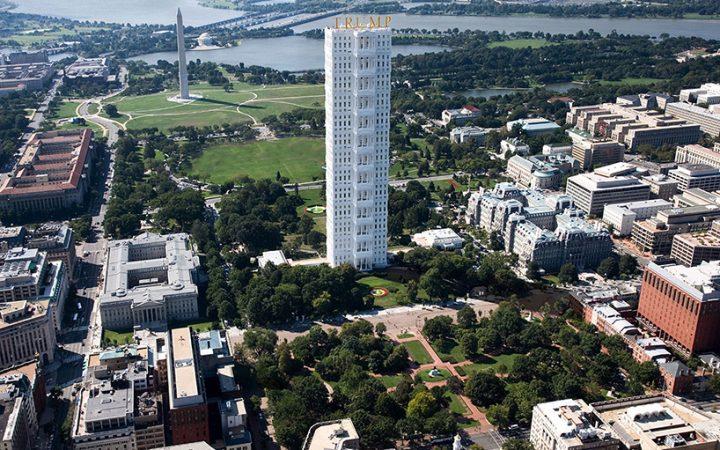 More phallus than Presidential residence. (via Design Boom)