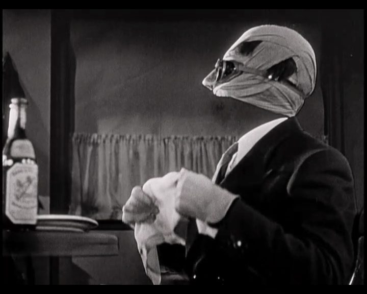 From The Invisible Man (1933)