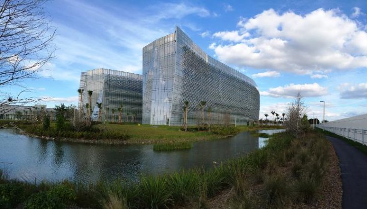 The FBI field office at 2030 SW 145th Avenue in Miami's Miramar district (all images courtesy the General Services Administration, via gsa.gov)