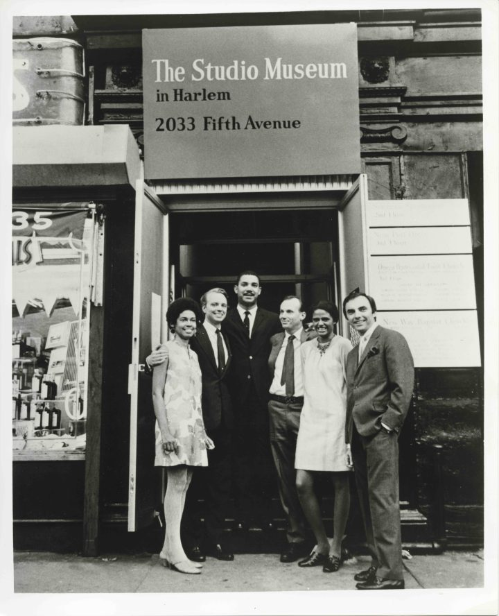 Founding members and staff of the Studio Museum in Harlem including Betty Blayton-Taylor (second to far right). Courtesy of The Studio Museum in Harlem.