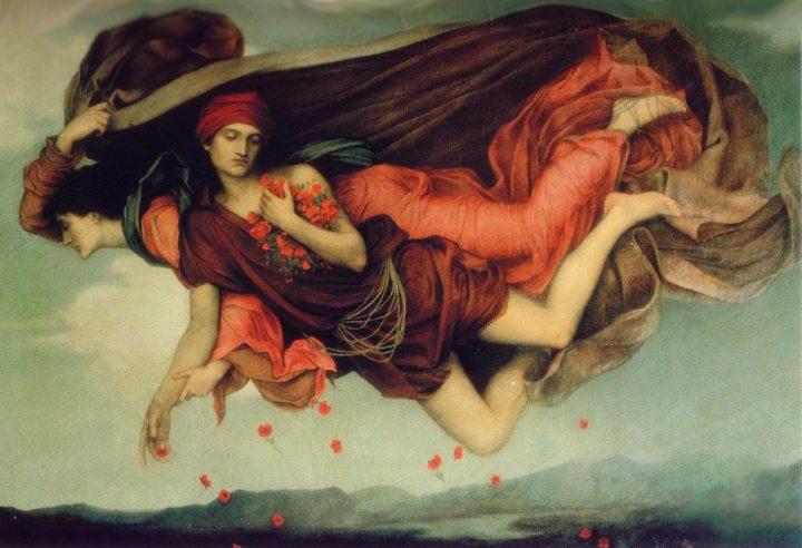 """Evelyn Pickering (De Morgan), """"Night and Sleep"""" (1878) (© De Morgan Foundation)"""