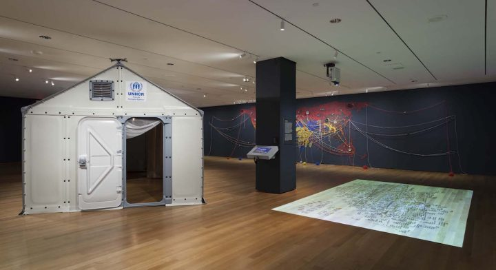 Installation view of <em>Insecurities</em> at the Museum of Modern Art, New York, October 1, 2016–January 22, 2017 (© 2016 the Museum of Modern Art; photo by Jonathan Muzikar)