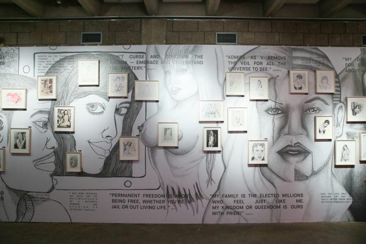 """On the Inside,"" installation view (photo by Angela Pham/BFA.com)"