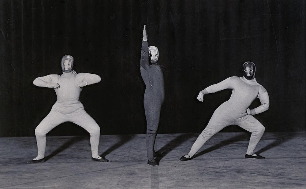 """Oskar Schlemmer, """"Dance de l'espace"""" (1927) (© 2016 Oskar Schlemmer, Photo Archive C. Raman Schlemmer)"""