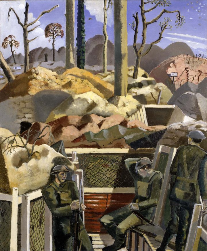 """Paul Nash, """"Spring in the Trenches, Ridge Wood, 1917"""" (1918), Imperial War Museum, London (©Tate)"""