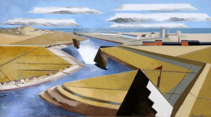 """Paul Nash, """"The Rye Marshes"""" (1932), Ferens Art Gallery (© Tate)"""
