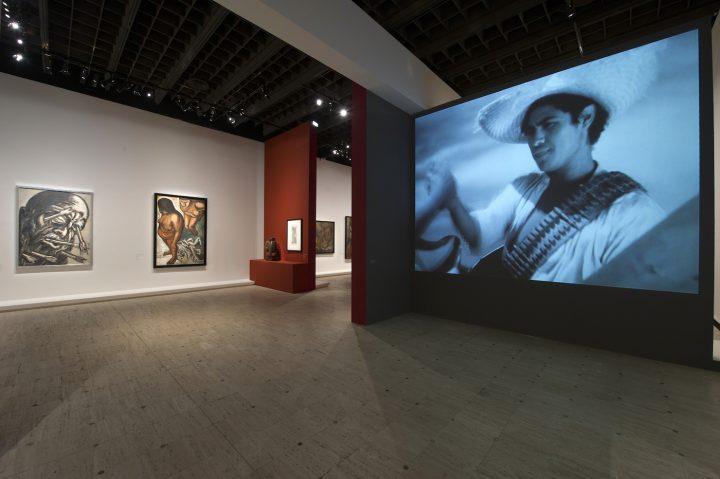 Installation view of <em>Mexique 1900–1950</em> at the Gran Palais; exhibition design by Atelier Jodar Architecture (photo © Didier Plowy for Rmn-Grand Palais)
