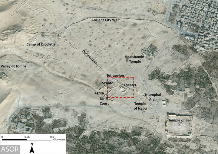 Satellite Imagery Suggests ISIS Destroyed Two More Ancient Sites - Satellite map sites