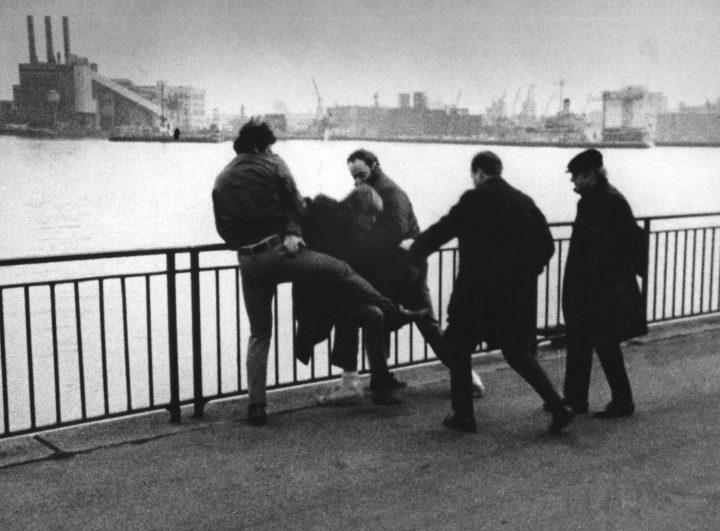 A scene from <em>Ice</em> (1969, a film by Robert Kramer (courtesy Icarus Films)