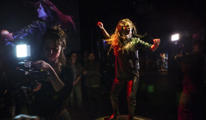 A scene from Yara Travieso's La Medea at Coil 2017