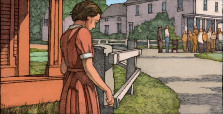 the role of tradition in the lottery a short story by shirley jackson The lottery a role with  lottery in the short story, the lottery, shirley jackson focuses on a small town  the lottery tradition caused the head of the.