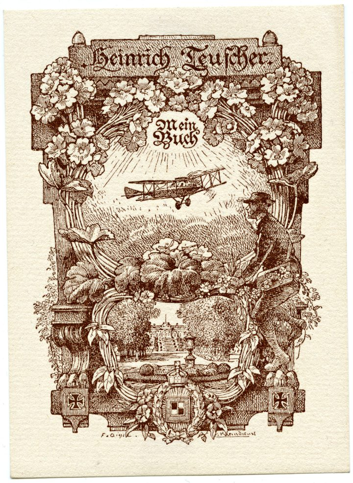 The Graphic Beauty Of Vintage Bookplates
