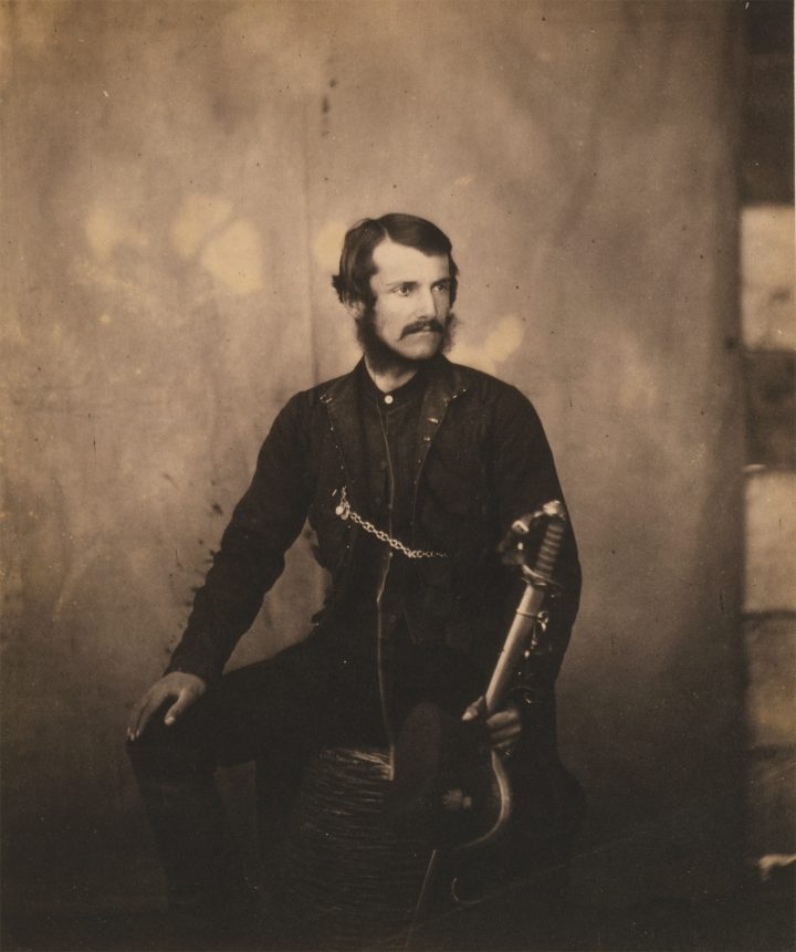 96ba313ac9b ... Captain Burnaby of the Crimean War (courtesy National Library of  Congress) ...