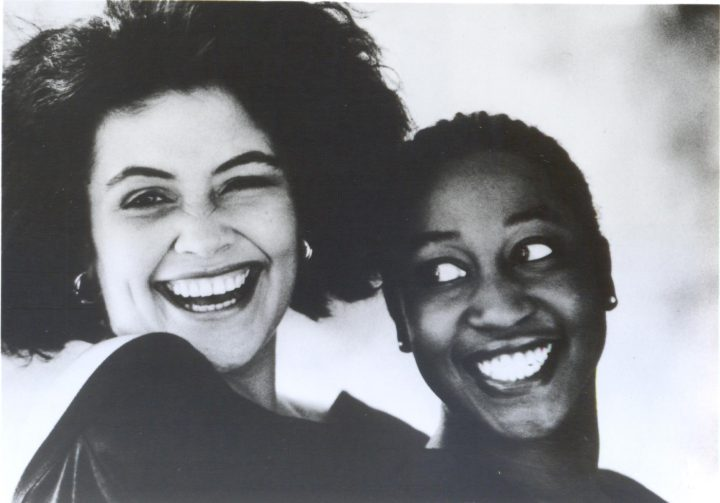Still from <em>Perfect Image?</em> (1988), directed by Maureen Blackwood (photo courtesy Women Make Movies)