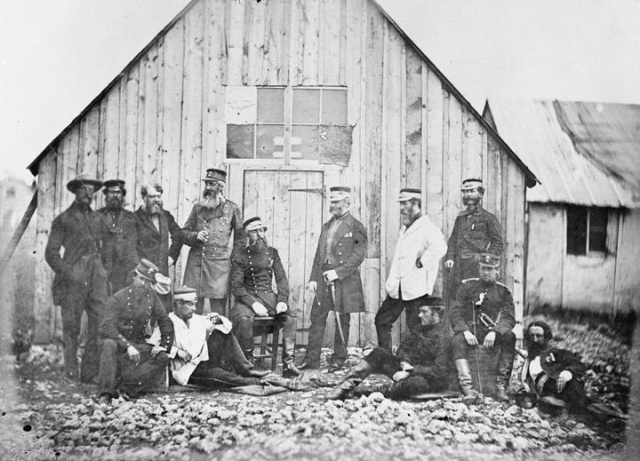 fed1961b42f Crimean War officers (1854–56) (photo by Robertson James