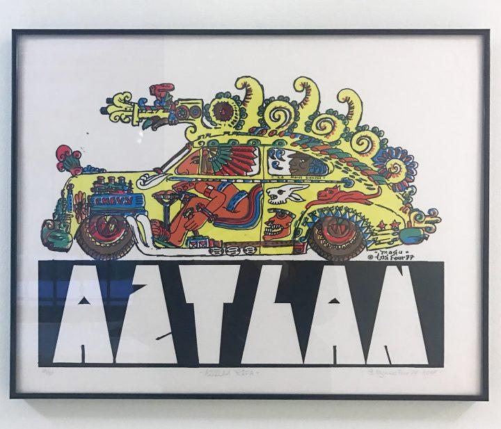 """Gilbert """"Magu"""" Lujan, """"AZTLÁN"""" (1977)"""