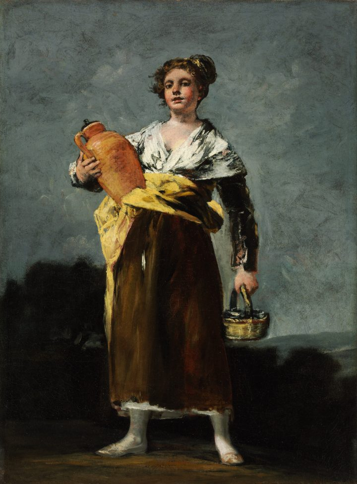 "Francisco de Goya, ""The Water Carrier"" (1808–12), Museum of Fine Arts, Budapest (via Wikimedia Commons)"
