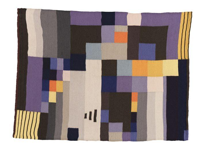 """Ruth Consemuller, """"Tapestry"""" (1926), woven wool (© Bauhaus-Universität Weimar, Archiv der Moderne)"""