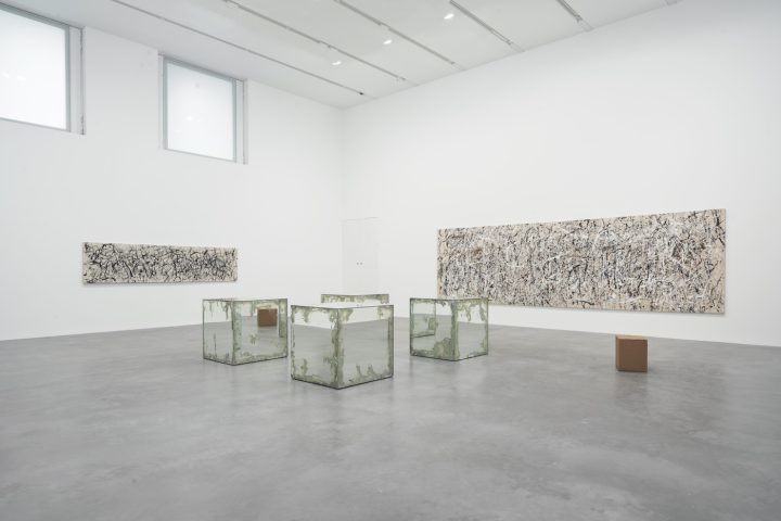 Installation view of Gavin Turk: Who What When Where How & Why at the Newport Street Gallery (photo © Victor Mara Ltd)