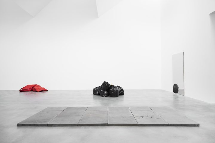 Installation view of <em>Gavin Turk: Who What When Where How & Why</em> at the Newport Street Gallery (photo © Victor Mara Ltd)