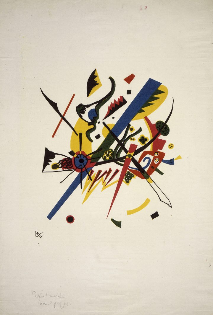 """Vassily Kandinsky, """"Kleine Welten I"""" (1922), color lithography (photo © Centre Pompidou, MNAM-CCI, Dist. RMN-Grand Palais / all rights reserved)"""