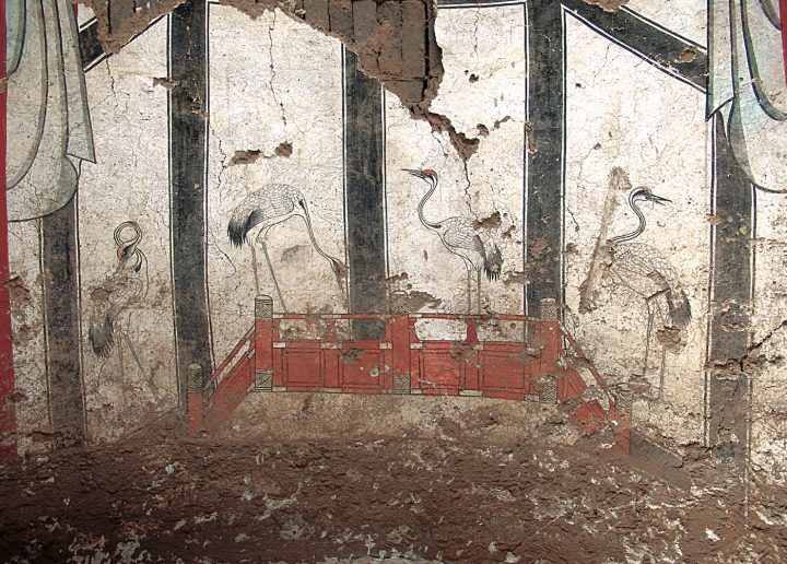 Newly Discovered Chinese Tomb Murals Give A Glimpse Of