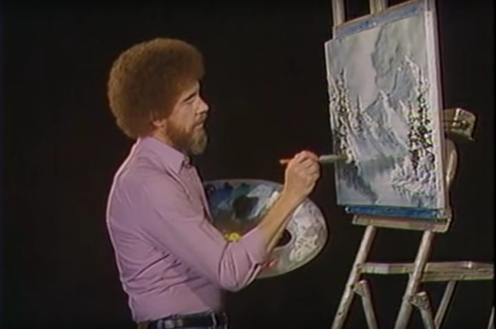 a searchable database for every bob ross canvas from joy of painting