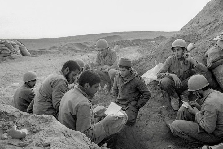 "Bahman Jalali, ""Untitled"" from the <em>Iran-Iraq War 1980–1988</em> series, analog photography, archival inkjet print, 20 x 30cm"