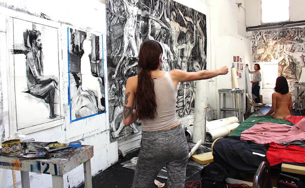 summer art marathons at the new york studio school