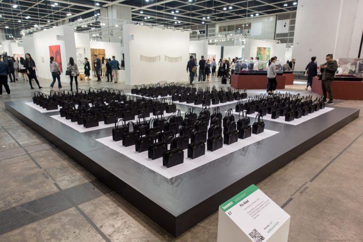 """Pio Abad, """"Not a Shield, but a Weapon"""" at Art Basel Hong Kong 2017"""