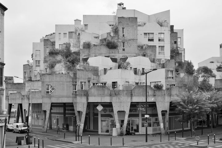 """Les Étoiles,"" Ivry-sur-Seine, designed by Jean Renaudie, Renée Gailhoustet (1970-72) (photo by Nigel Green)"