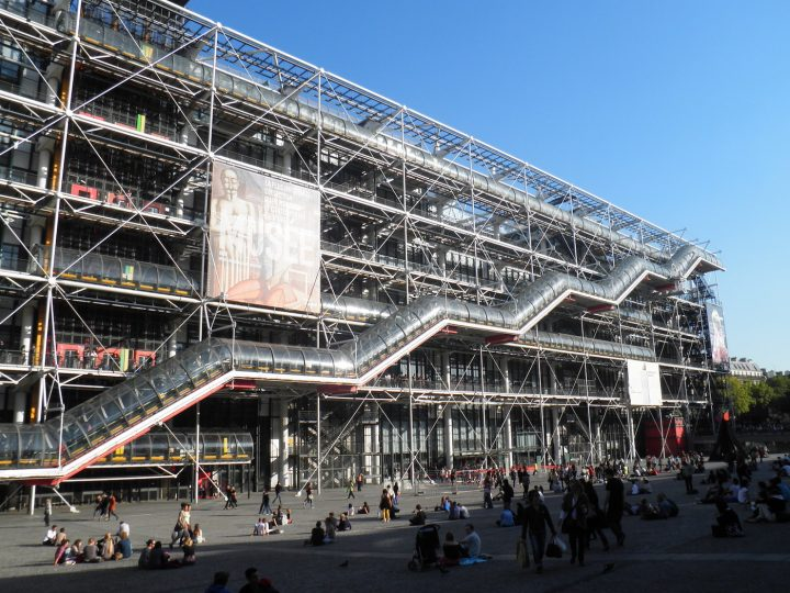 The Centre Pompidou (photo by Mister No/Wikimedia Commons)