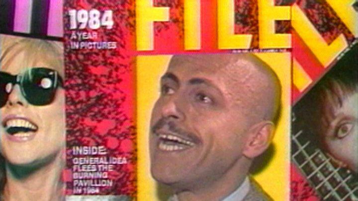 "Still from General Idea, ""Test Tube"" (1979), 29 min (courtesy General Idea)"