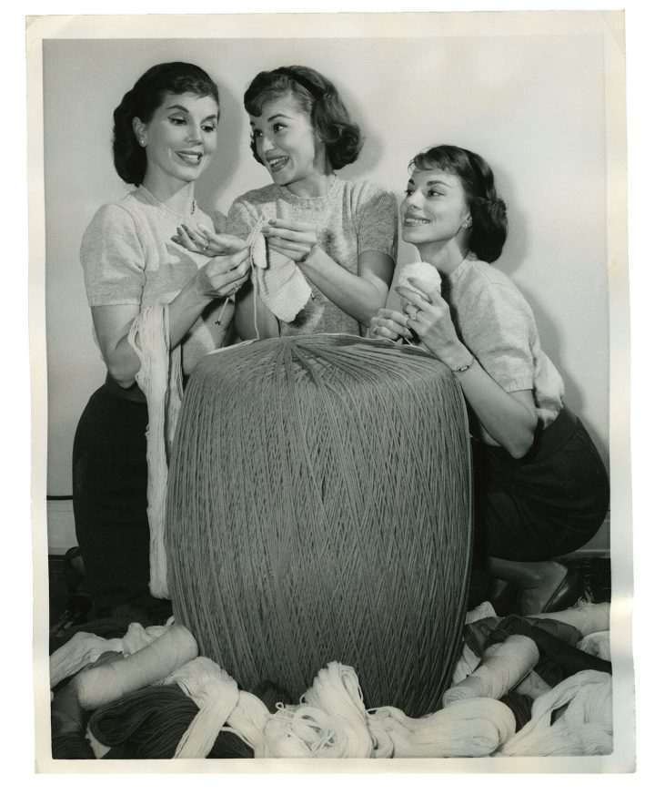 Group Of People Knitting : Years of people knitting