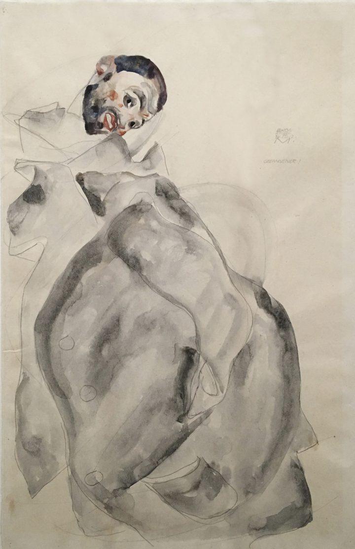 April 24 1912 pencil and watercolor albertina