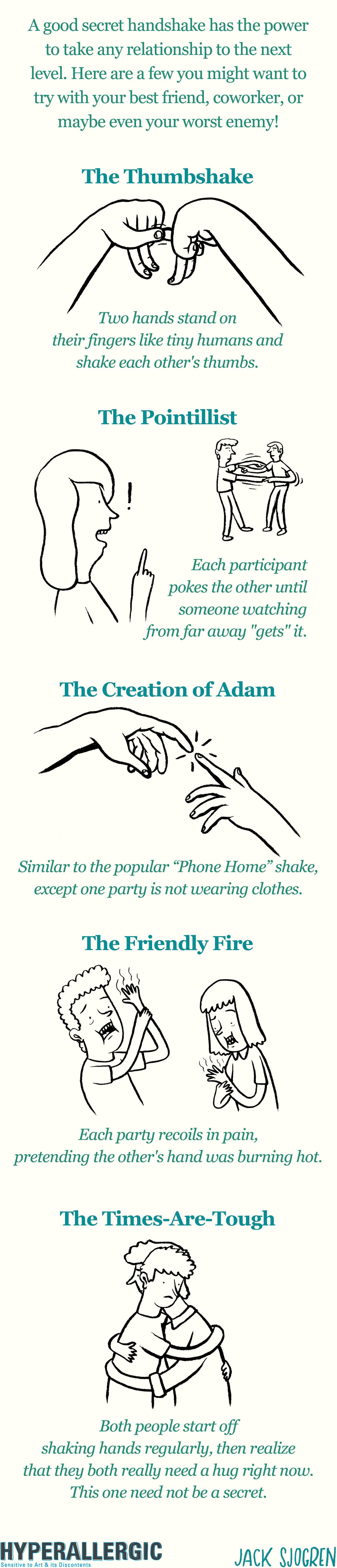 Secret handshakes for everyday use