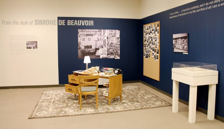 An Exhibition That Feels Like Sitting At Simone De Beauvoirs Desk