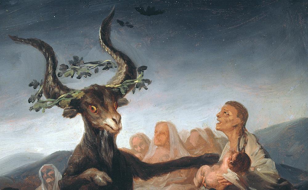 "Francisco Goya, ""Witches Sabbath"" (1797–98) (Museum of Lázaro Galdiano, via Wikimedia Commons)"
