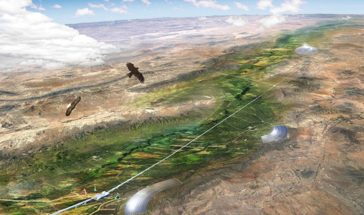 Rendering of the Otra Nation near El Paso (courtesy MADE Collective)