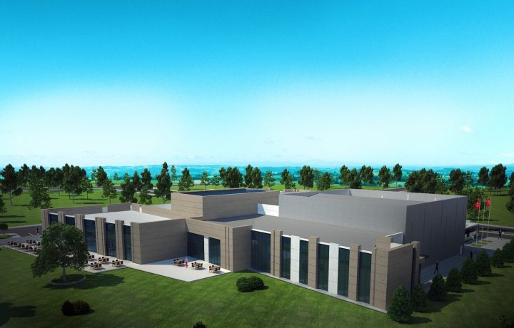 Rendering of the Museum of the 15 July: Martyrs and Democracy near Ankarra (courtesy the Ministry of Culture and Tourism)
