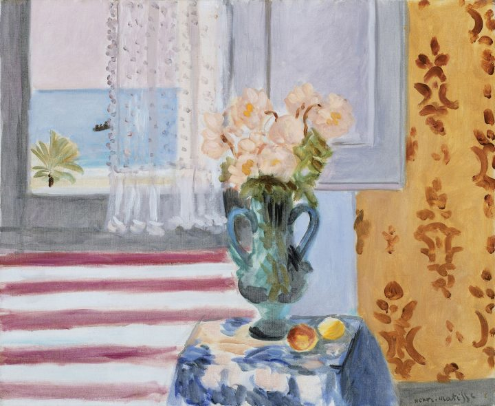The Eclectic Objects that Inspired Matisse 's Art Artes & contextos 08. Vase of Flowers Henri Matisse 0
