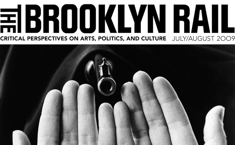 The cover of the July/August 2009 issue of the Brooklyn Rail (via Wikimedia Commons)