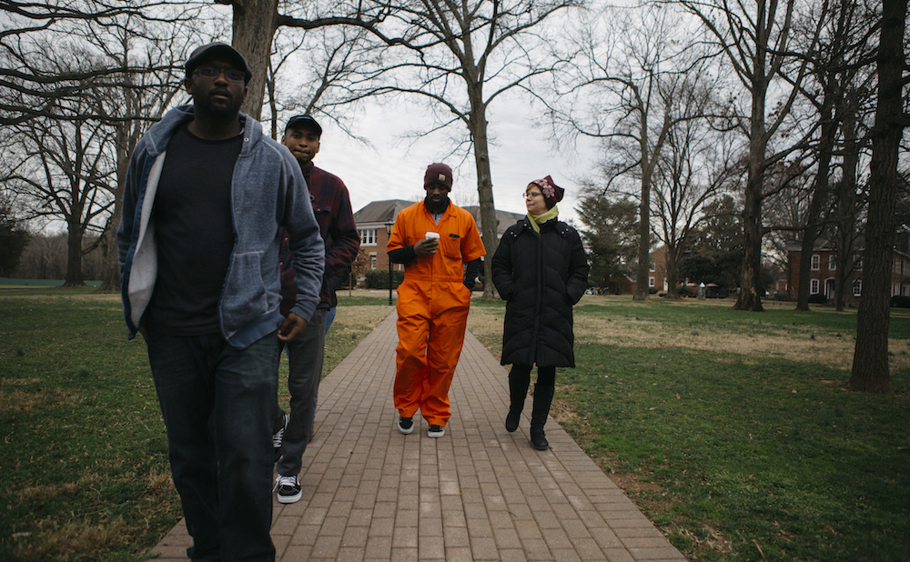 Sherrill Roland's The Jumpsuit Project (photo courtesy the artist, by Laath Martin)