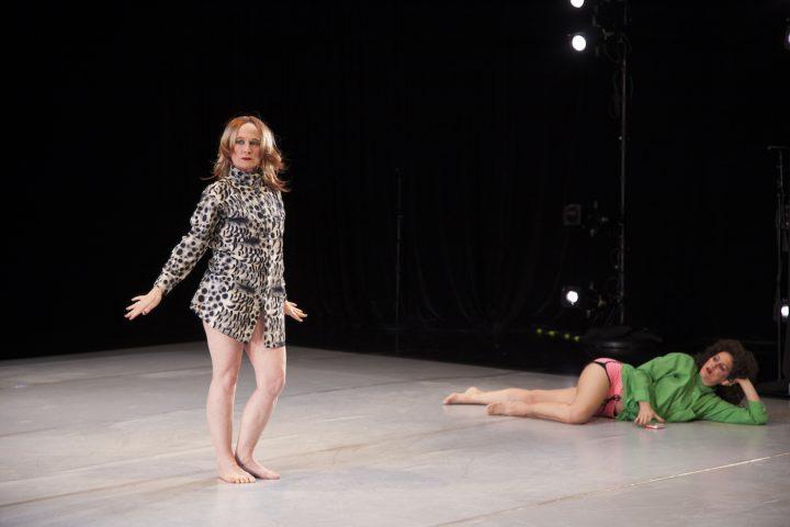 Jennifer Monson and DD Dorvillier (photo © Sarah Nesbitt)