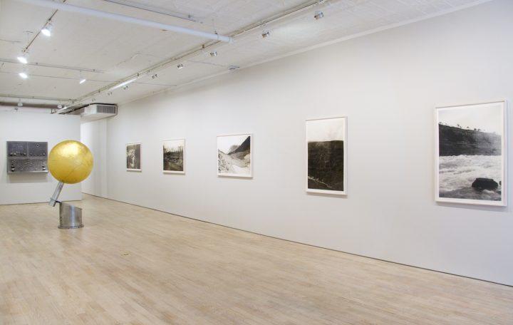 Installation view of John Stoney's <em>The Origins of Grey</em> at Pierogi