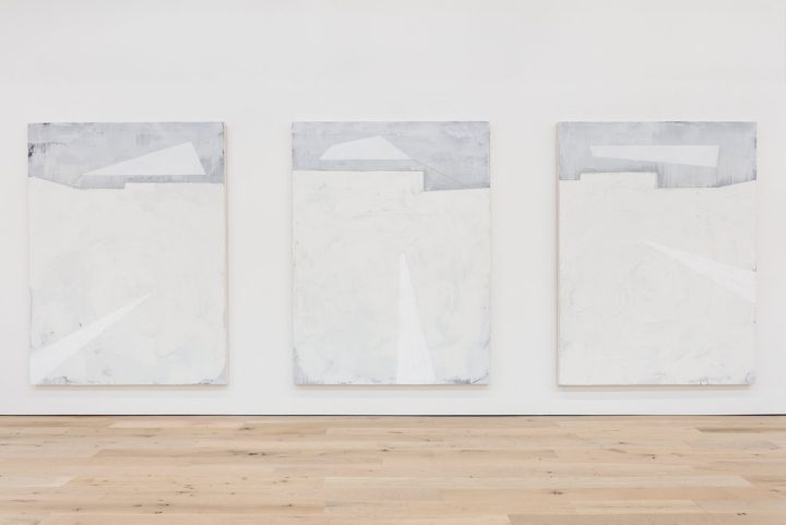 Installation view of Invisible Man with works by Torkwase Dyson
