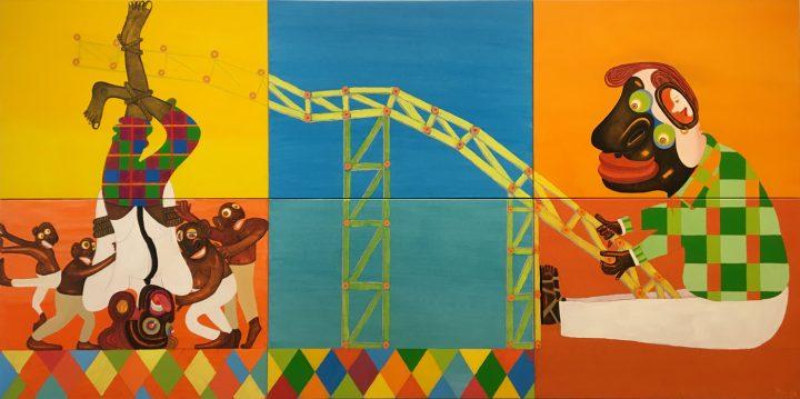 "Peter Williams, ""Smile"" (2016), oil on canvas, F.V. du Pont Acquisition Fund, 2016"